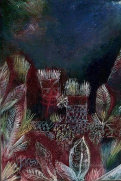 Klee Oil Painting - Tropical twilight Paul Klee