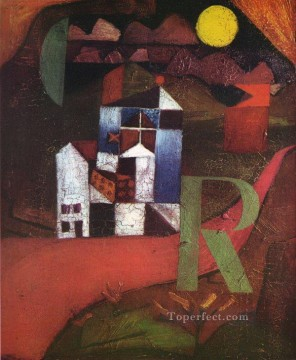 Paul Klee Painting - Villa R Paul Klee