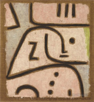 Klee Oil Painting - WI In Memoriam Paul Klee
