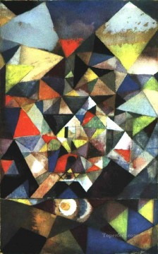 Paul Klee Painting - With the Egg Paul Klee