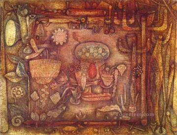 Paul Klee Painting - Botanical Theater Paul Klee