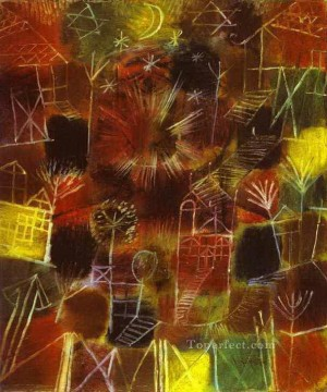 Cosmic Composition Paul Klee Oil Paintings