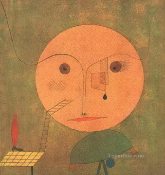 Paul Klee Painting - Error on green Paul Klee