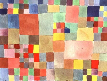 Flora on sand Paul Klee Oil Paintings