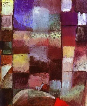 Paul Klee Painting - Hamamet Paul Klee