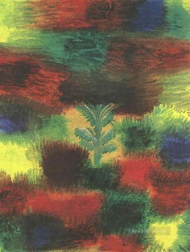 Paul Klee Painting - Little Tree Amid Shrubbery Paul Klee