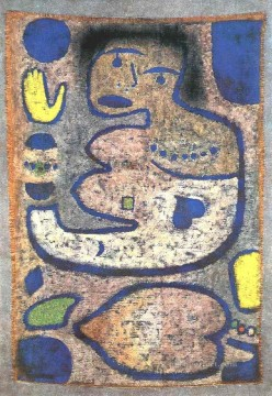 Klee Oil Painting - Love Song by the New Moon Paul Klee