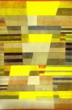 Klee Oil Painting - Monument Paul Klee
