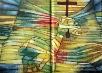 Klee Oil Painting - The Lamb Paul Klee