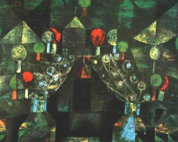 Women Pavilion Paul Klee Oil Paintings