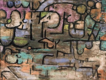 Paul Klee Painting - after the floods Paul Klee