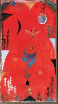 Paul Klee Painting - Flower myth Paul Klee