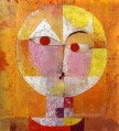 Senecio 1922 Paul Klee cubism abstract head
