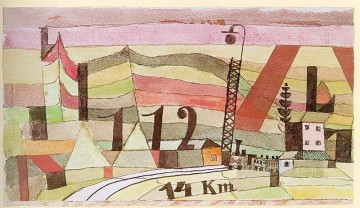 Paul Klee Painting - Station L 112 Paul Klee