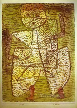 Paul Klee Painting - The Future Man Paul Klee