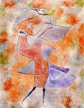 Diana in the Autumn Wind Paul Klee Oil Paintings