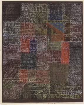Paul Klee Painting - Structural II Paul Klee