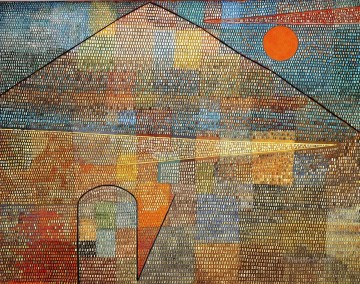Paul Klee Painting - Ad Parnassum Paul Klee