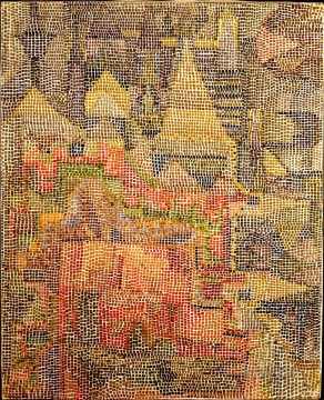 Klee Oil Painting - Castle Garden Paul Klee