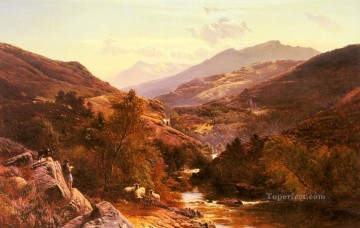 Sidney Richard Percy Painting - Glen Fallock Dunbartonshire Sidney Richard Percy