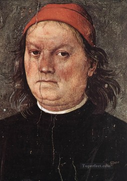 Self Portrait Renaissance Pietro Perugino Oil Paintings