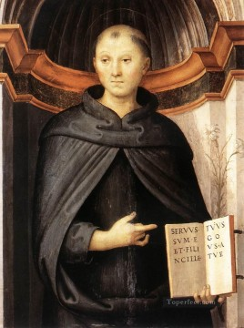 St Nicholas of Tolentino 1507 Renaissance Pietro Perugino Oil Paintings