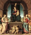 The Family of the Madonna Renaissance Pietro Perugino