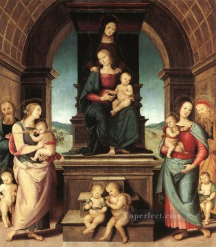 renaissance - The Family of the Madonna Renaissance Pietro Perugino