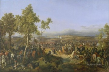 Artworks by 350 Famous Artists Painting - Battle of Tarutino Peter von Hess historic war