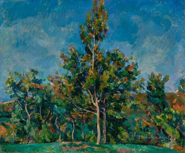 Petr Petrovich Konchalovsky Painting - TREE AGAINST THE SKY Petr Petrovich Konchalovsky