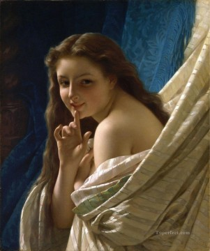 classicism Painting - portrait of a young woman Academic Classicism Pierre Auguste Cot