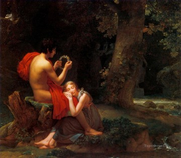 classicism Painting - garland sleeping beauty in forest Academic Classicism Pierre Auguste Cot