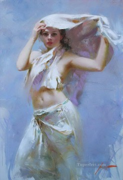 Pino Daeni 8 Oil Paintings