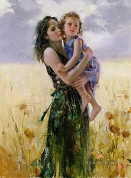 Daeni Painting - close to my heart by pino daeni