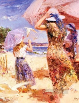Pino Daeni 13 Oil Paintings