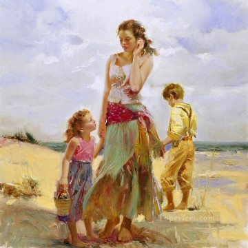 Pino Daeni 18 Oil Paintings