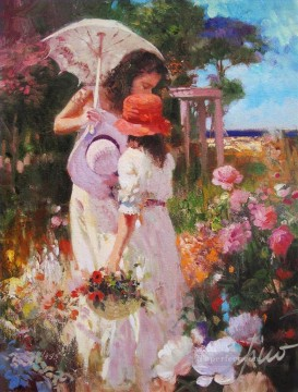 Pino Daeni 5 Oil Paintings