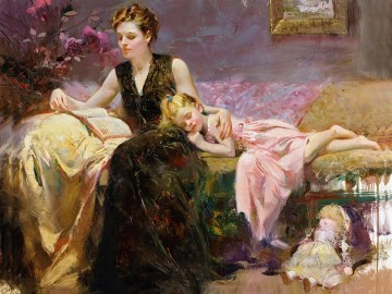 Pino Daeni 7 Oil Paintings