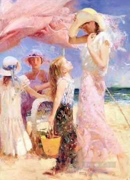 Talking Pino Daeni Oil Paintings