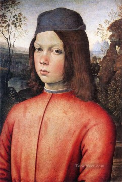 Portrait Of A Boy Renaissance Pinturicchio Oil Paintings