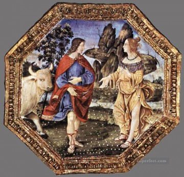 Ceiling Decoration Renaissance Pinturicchio Oil Paintings