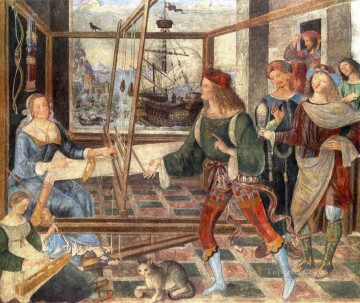 renaissance Painting - The Return Of Odysseus Renaissance Pinturicchio
