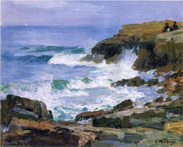 Henry Art Painting - Looking out to Sea landscape Edward Henry Potthast