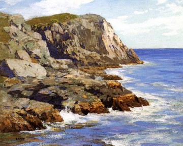 Monhegan landscape Edward Henry Potthast Oil Paintings