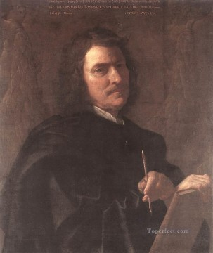 Self Painting - Self portrait 1649 classical painter Nicolas Poussin