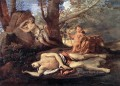 Echo Narcissus classical painter Nicolas Poussin