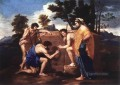 Et in arcadia ego classical painter Nicolas Poussin