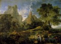 Nicolas Landscape With Polyphemus classical painter Nicolas Poussin