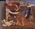 The Massacre of the Innocents classical painter Nicolas Poussin