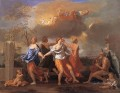 Dance to the music classical painter Nicolas Poussin